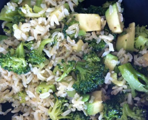 Meal Plan: Simple, Smooth Rice Bowl